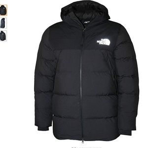 The North Face Men's UX Down Hooded Puffer LARGE